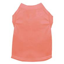 Plain Dog Shirt - Peach