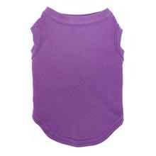 Plain Pet Shirt - Purple