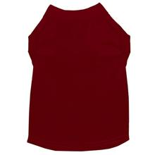 Plain Dog and Cat Shirt - Maroon