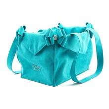 Montego Double Nouveau Bow Luxury Dog Carrier by Susan Lanci