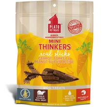 Plato Mini Thinkers Grain-Free Carrot, Turkey & Peanut Butter Dog Treats