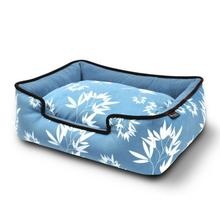 P.L.A.Y. Bamboo Lounge Dog Bed - Blue