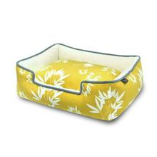 P.L.A.Y. Bamboo Lounge Dog Bed - Mustard
