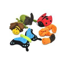 P.L.A.Y. Bugging Out Plush Dog Toy Collection - 5 Piece Set