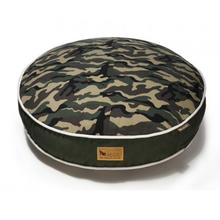 P.L.A.Y. Camouflage Round Dog Bed - Green