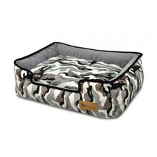 P.L.A.Y. Camouflage Lounge Dog Bed - White