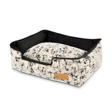 P.L.A.Y. Celestial Lounge Dog Bed - Night Sky Black