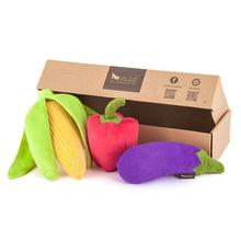 P.L.A.Y. Farm Fresh Dog Toy Collection - 3 Piece Set