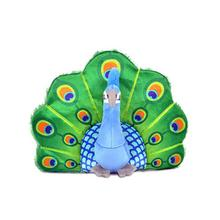 P.L.A.Y. Fetching Flock Plush Dog Toy - Peacock