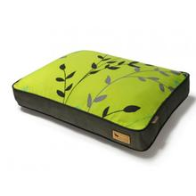 P.L.A.Y. Greenery Rectangular Dog Bed - Pear and Rifle Green