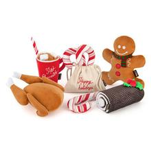 P.L.A.Y. Holiday Classic Dog Toy Collection - 5 Piece Set