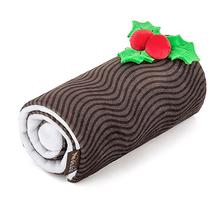 P.L.A.Y. Holiday Classic Dog Toy - Yummy Yuletide Log