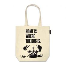 P.L.A.Y. Home is Where the Dog is Human Tote