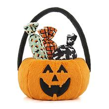 P.L.A.Y. Howl-O-Ween Treat Basket Dog Toys