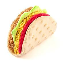 P.L.A.Y. International Classic Dog Toy - Tail Waggin' Taco