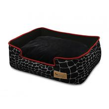 P.L.A.Y. Kalahari Lounge Dog Bed - Black Giraffe