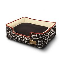 P.L.A.Y. Kalahari Lounge Dog Bed - Brown Giraffe