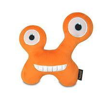 P.L.A.Y. Momo's Monster Dog Toy - Orange Chatterbox