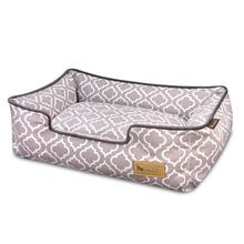 P.L.A.Y. Moroccan Lounge Dog Bed - Ash Gray