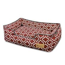 P.L.A.Y. Moroccan Lounge Dog Bed - Marsala