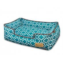 P.L.A.Y. Moroccan Lounge Dog Bed - Teal