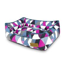 P.L.A.Y. Mosaic Lounge Dog Bed - Soda Pop