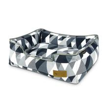P.L.A.Y. Mosaic Lounge Dog Bed - Tuxedo