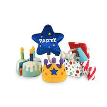 P.L.A.Y. Party Time Dog Toy Collection - 5 Piece Set