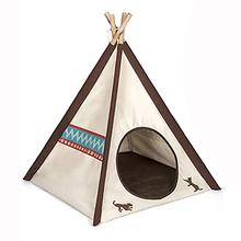 P.L.A.Y. Dog and Cat Teepee - Classic Beige