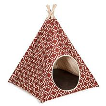 P.L.A.Y. Dog and Cat Teepee - Moroccan Marsala