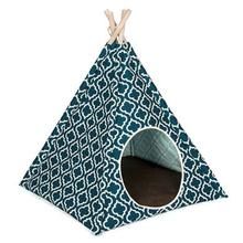 P.L.A.Y. Pet Teepee - Moroccan Navy