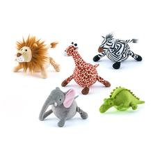P.L.A.Y. Safari Dog Toy Collection - 5 Piece Set