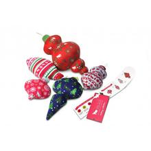 P.L.A.Y. Santa's Little Squeakers Dog Toy Collection - 5 Piece Set
