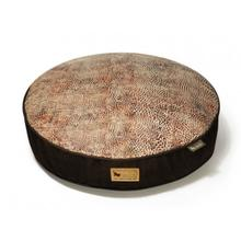 P.L.A.Y. Savannah Round Dog Bed - Brown