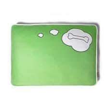 P.L.A.Y. What Dogs Dream Rectangular Dog Bed - Green