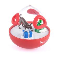 P.L.A.Y. Wobble Ball Enrichment Dog Toy - Holiday Edition
