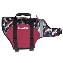Playa Pup Dog Lifejacket - Reef Red