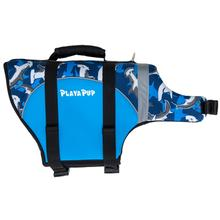Playa Pup Dog Lifejacket - Surf Blue