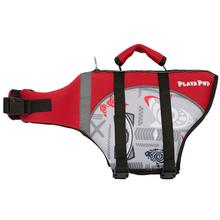 Playa Pup Dog Lifejacket - Tribal Shark Falcon Red