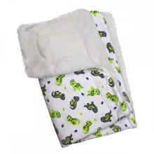 Playful Dinosaurs Ultra Soft Minky/Plush Dog Blanket by Klippo