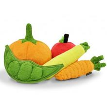 P.L.A.Y. Garden Fresh Dog Toy Collection - 5 Piece Set