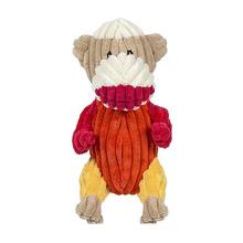 Plush Durable Tur-Monk-en Dog Toy