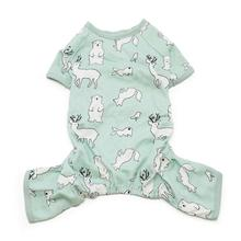 Polar Bear Dog Pajamas by Dogo