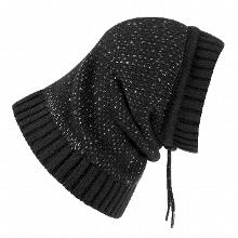 Polaris Reflective Dog Snood  - Black