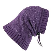 Polaris Reflective Dog Snood  - Plum Purple