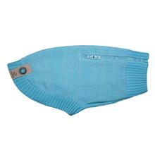Polaris Reflective Dog Sweater - Teal