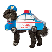 Police Car Dog Costume