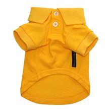 Polo Dog Shirt by Parisian Pet - Yellow