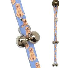 Poochie Bells Dog Doorbell Potty Alert - Golden Retriever