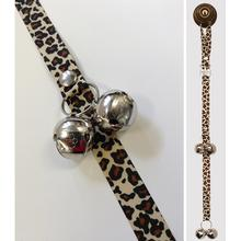 Poochie Bells Dog Doorbell Potty Alert - Leopard